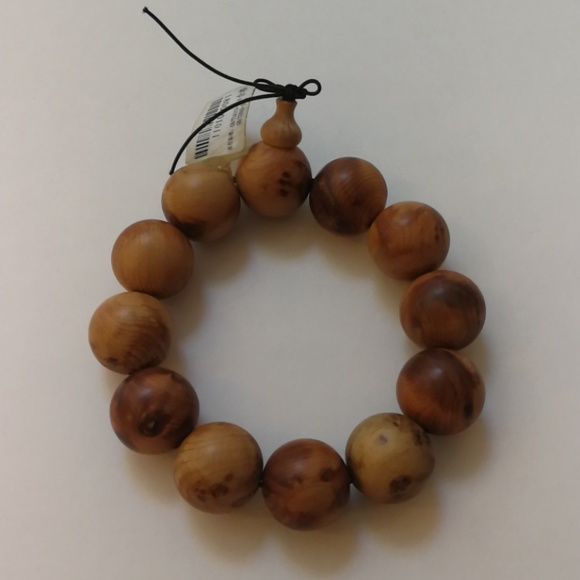 Jewelry - Wooden Beaded Bracelet
